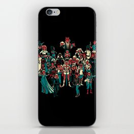 LADY KNIGHTS!! iPhone Skin