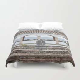 View from Top (Generalife) Duvet Cover