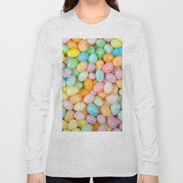 Happy Easter Speckled Jelly Beans Long Sleeve T-shirt