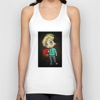 silent hill Tank Tops featuring Silent Pewds by CrystallineColey