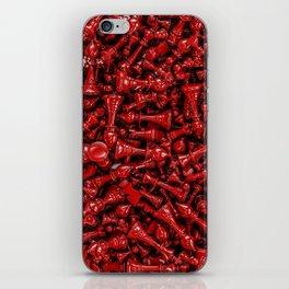 Bloody chess iPhone Skin