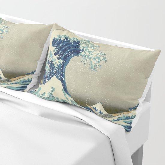 The Classic Japanese Great Wave off Kanagawa Print by Hokusai by podartist
