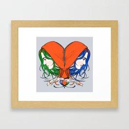 Clementine's Heart Framed Art Print