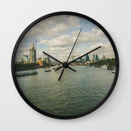 London 18 Wall Clock
