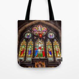 Ancient Stained Glass Tote Bag