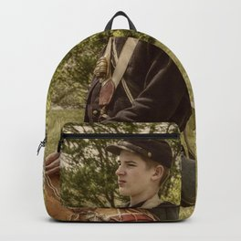 Civil War Drummer Boy Backpack