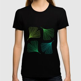 Ginkgo Leaves_color T-shirt