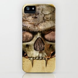 In The Eyes Of The Vampire iPhone Case
