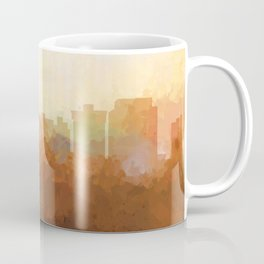 Newport News, Virginia Skyline- In the Clouds Coffee Mug