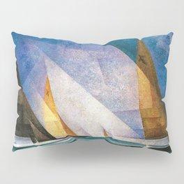 Sailboats by Lyonel Feininger Pillow Sham