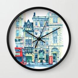 London, Temple Wall Clock