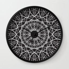 Diamond Eye Mandala Wall Clock