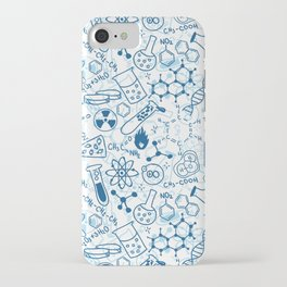 School chemical pattern #2 iPhone Case