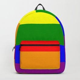 Rainbow Flag Backpack