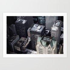 BUILDINGS - CITY - PHOTOGRAPHY Art Print