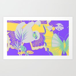 Jungle Fly >2< Art Print