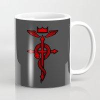 fullmetal Mugs featuring Fullmetal Alchemist Flamel by R-evolution GFX