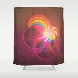 Ascension At Mount Of Olives Shower Curtain