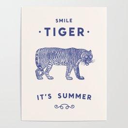 Smile Tiger, it's Summer Poster
