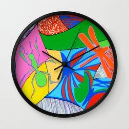 Bugs rock Wall Clock
