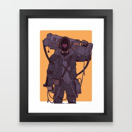 Daftermath 001 Framed Art Print