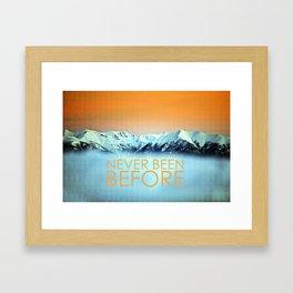 Tatra Mountains Sunset Framed Art Print