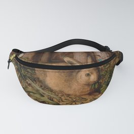 A Hare In The Forest Hans Hoffmann Fanny Pack