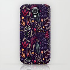 Botanical pattern Galaxy S4 Slim Case