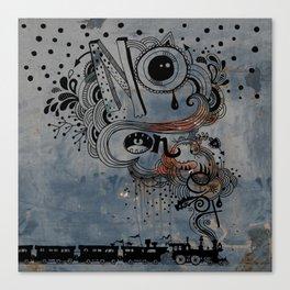 No Concept Canvas Print