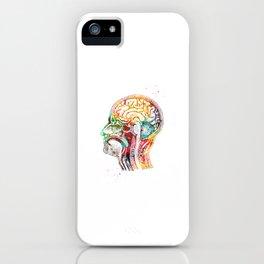 Human head iPhone Case