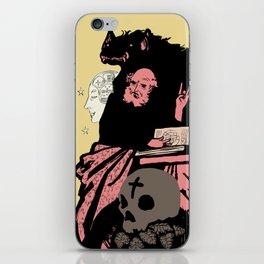 Black Magic #2 iPhone Skin