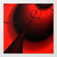 Straight to your Heart Canvas Print