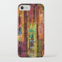 rio iPhone & iPod Cases featuring Rio by FYLLAYTA, surface design,Tina Olsson