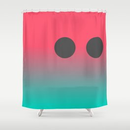 LONELY PIXEL by Amaro Girona Shower Curtain