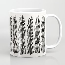 Black Seaweed Coffee Mug