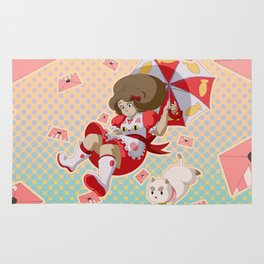 Bee and Puppycat Rug