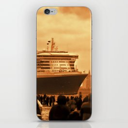 Queen Mary 2 iPhone Skin
