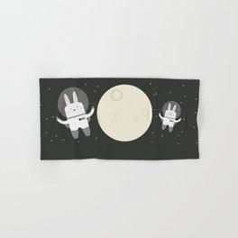 Astro Bunnies Hand & Bath Towel