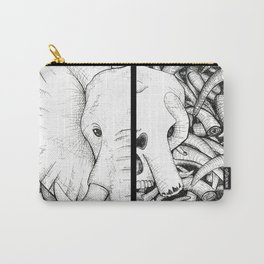 Elephant Ivory Carry-All Pouch