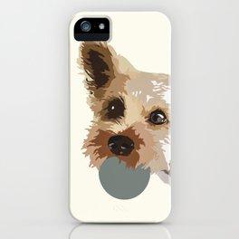 Rex in cream iPhone Case