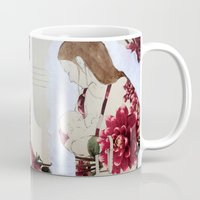bond Mugs featuring Bond by Suzanna Schlemm
