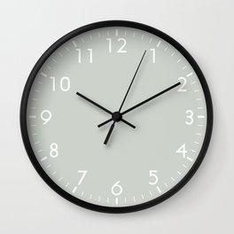Gray Grey Sea Salt Wall Clock