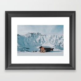 Hello Winter - Landscape and Nature Photography Framed Art Print