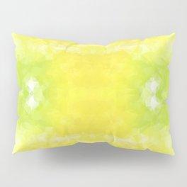 """""""Lemon jello"""" triangles design Pillow Sham"""