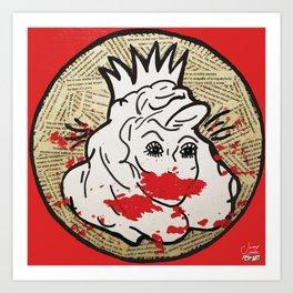 Invisible Monsters | Pop Art Art Print