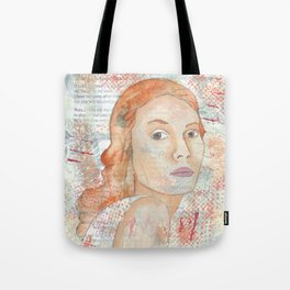 Blessed by patsy paterno Tote Bag