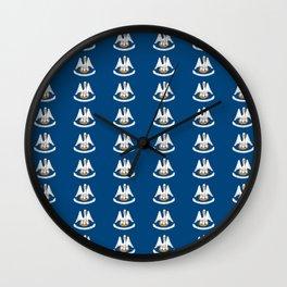 flag of Lousiana 2-Louisiana,new orleans,jazz,french,cajun,treme,baton rouge,south,Louisianian Wall Clock