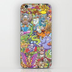 Creatures festival iPhone & iPod Skin