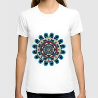 sacred geometry T-shirts featuring Sacred Geometry by Angel Decuir