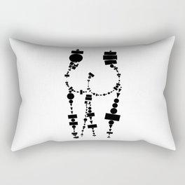 Shapely butt Rectangular Pillow